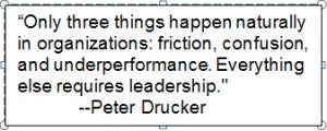 Peter Drucker Quote