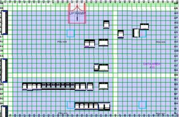 typical data center floor plan